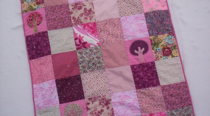 Finish Friday: Critter Cuddle Quilt