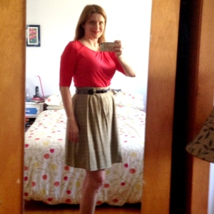 Day seven: StyleArc Emily top, Deer & Doe Chardon skirt (lining added)