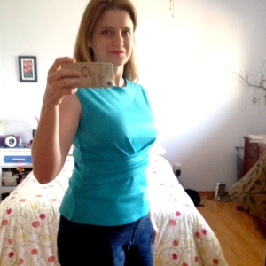 Day 8: Jalie Jeans, again! StyleArc Madeleine top