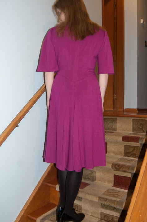 The Back. It doesn't *look* like pajamas.