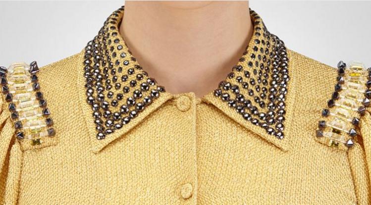 bv shirtdress collar